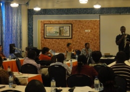 Facilitated group discussion helps to develop agreed approaches to care.