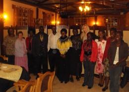 Celebrating a successful week of training in Eldoret.