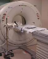 A CT scan machine