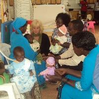 Infant massage certification training in Eldoret.