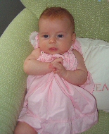 A baby girl.