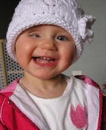 This little girl is among a slowly growing number of children to overcome trilateral retinoblastoma