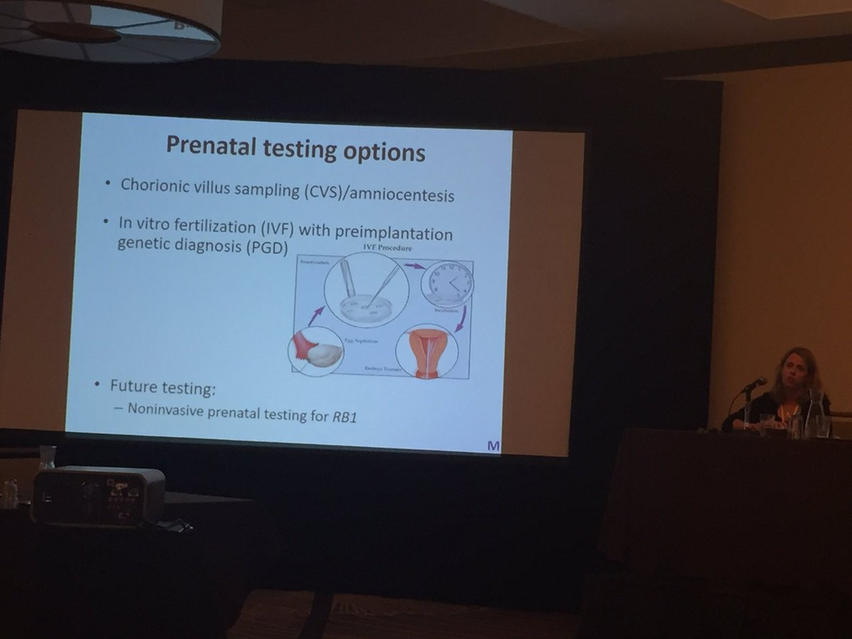 Melissa Mills discusses the different prenatal genetic testing options.