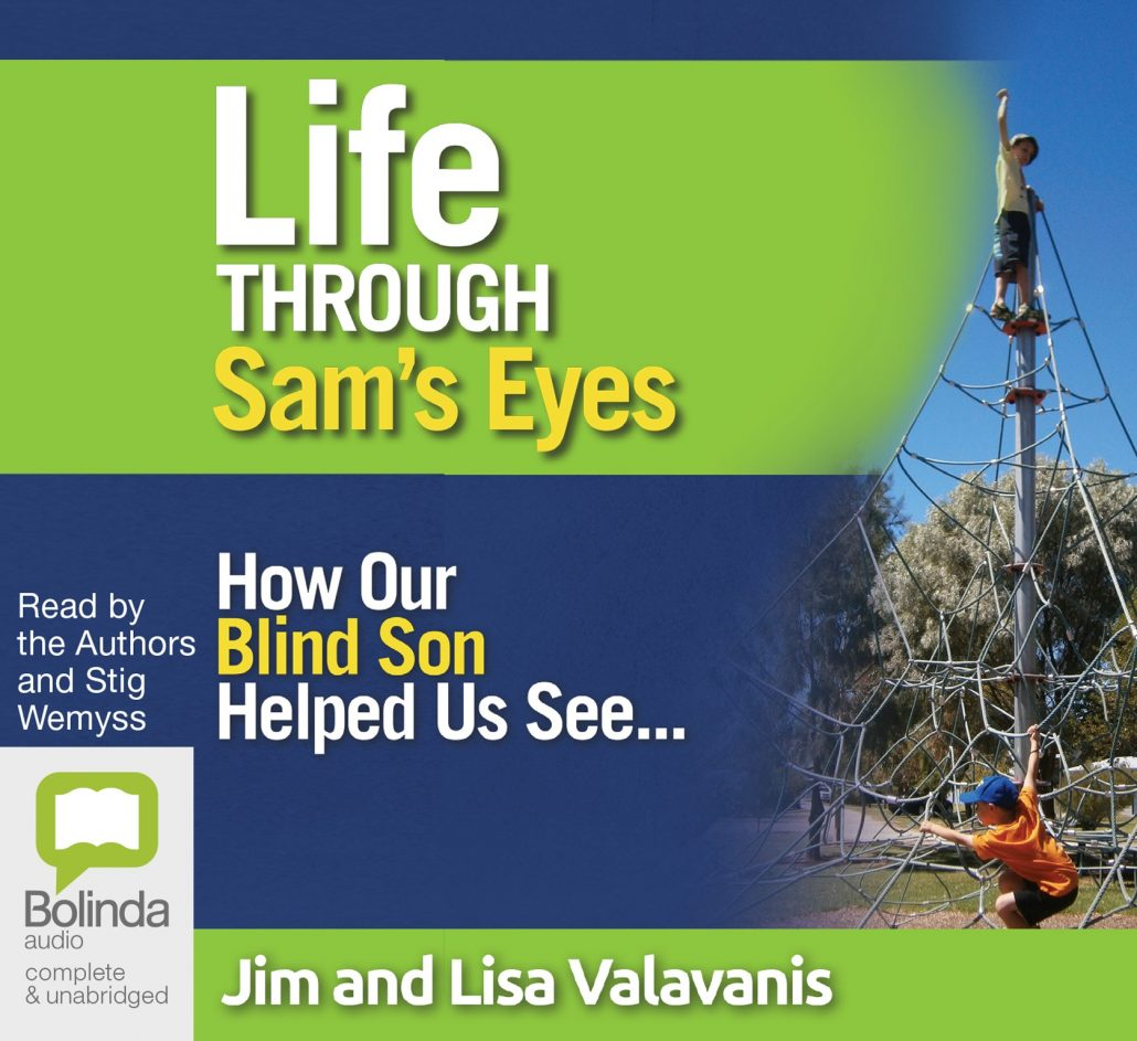 Life Through Sam's Eyes is available in Kindle and Audio formats.