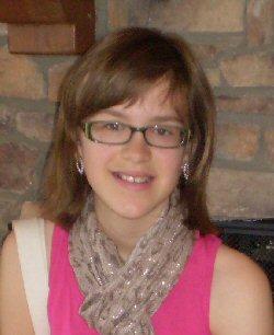 A young teen survivor.